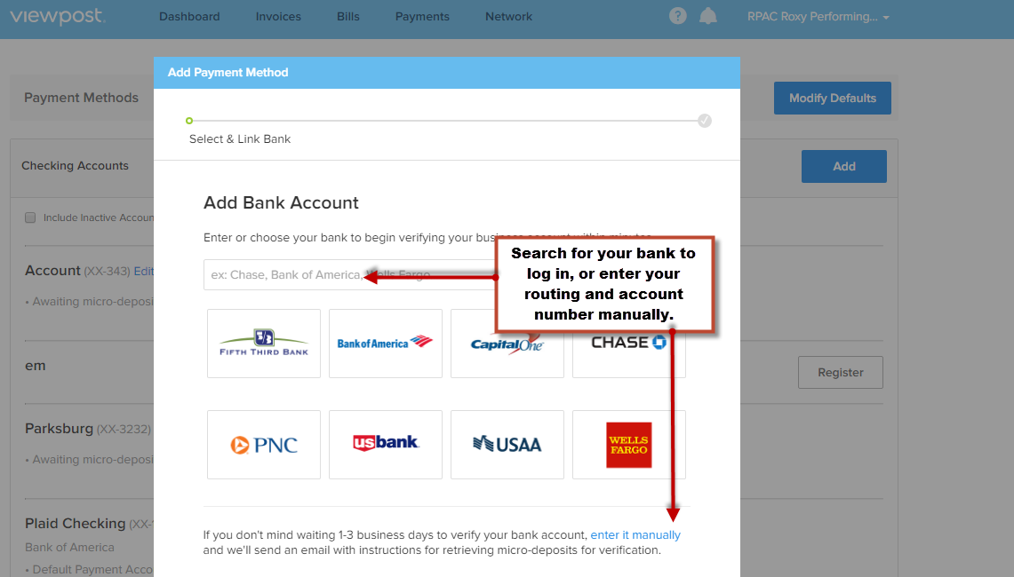 How Do I Change my Bank Account? – Viewpost Support Center